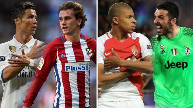 Полуфинале на Лигата на шампионите  Реал ќе го чека Атлетико  а Јувентус оди на гости кај Монако