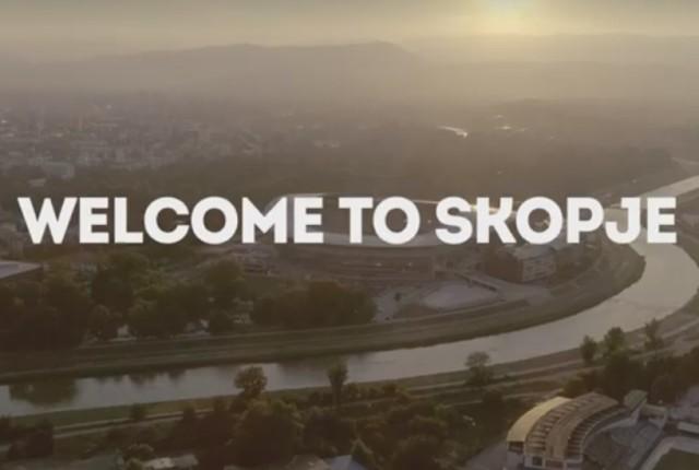 Во пресрет на УЕФА Супер Купот  Објавено промотивното видео за Скопје