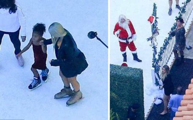 Ким Кардашијан снимаше Божиќна епизода на 35 степени