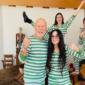 Брус Вилис и Деми Мур 20 години по разводот заедно во изолација
